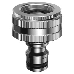 Multi threaded tap connector - Metal