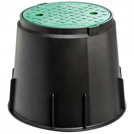 Circular valve box