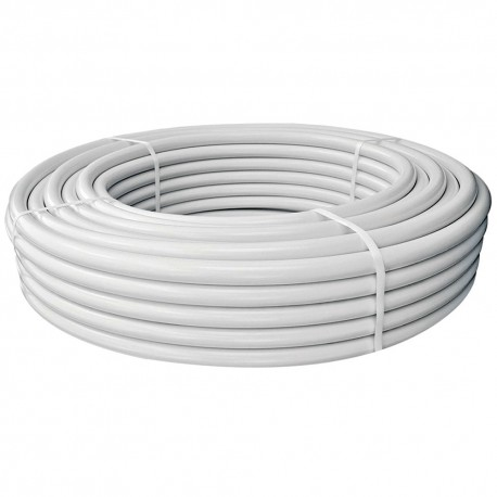 Tubo collettore - 25 m white