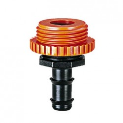 "1/2"" H. 3/4"" - 1"" threaded coupling"