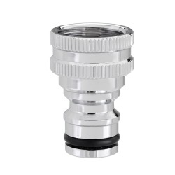 "3/4"" threaded tap connector - Metal"