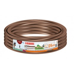 Tubo gocciolante - 25 m brown