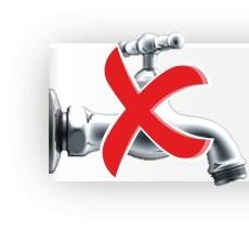 Ohne Wasserhahnanschluss