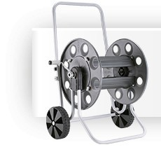 Metal hose reel carts